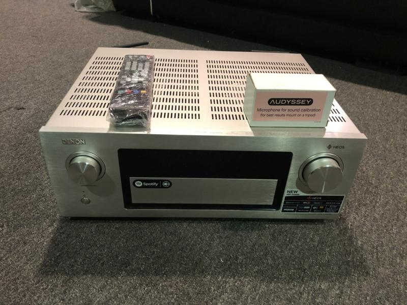Denon Avr X4400H 9.2CH AV Receiver (Used) Img_5120