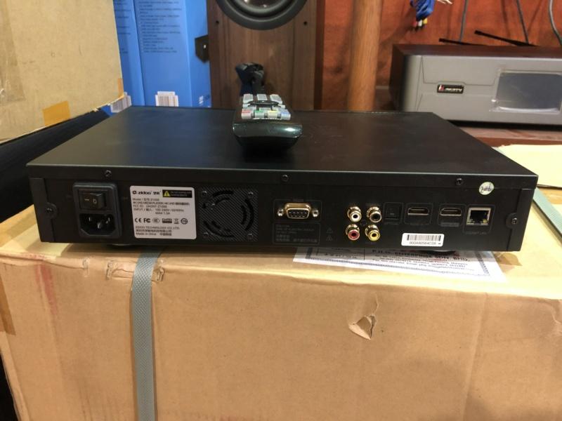 Zidoo Z1000 Media player(Used) Img_5128