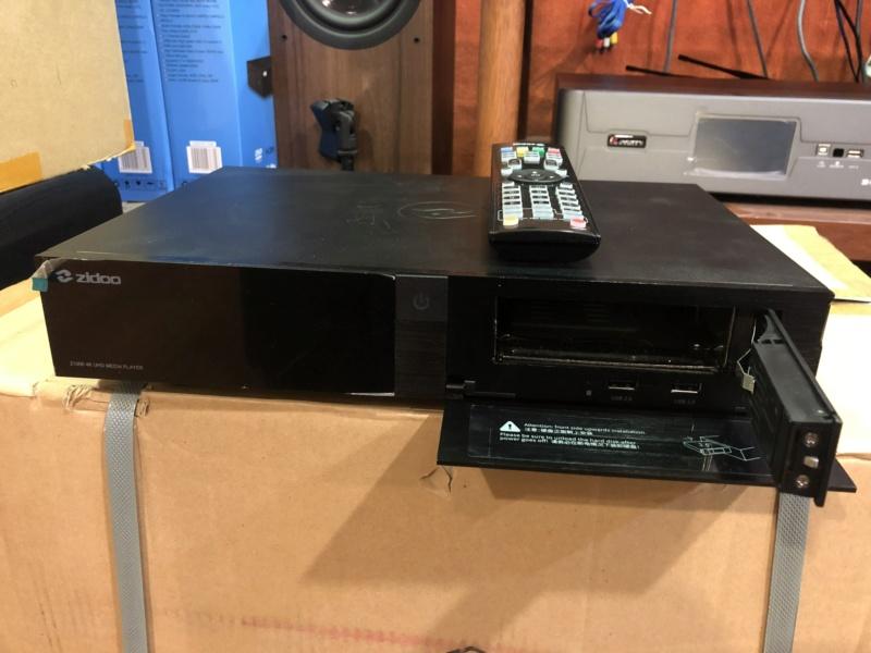 Zidoo Z1000 Media player(Used) Img_5129
