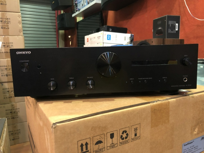 Onkyo A-9130 Stereo Amplifier (Used) Img_5328