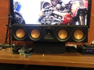 Klipsch RP504C Center Speaker (Sold) Img_5615