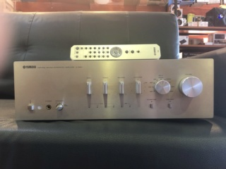 Yamaha A-S801 Integrated Amplifier (USED) Img_5912