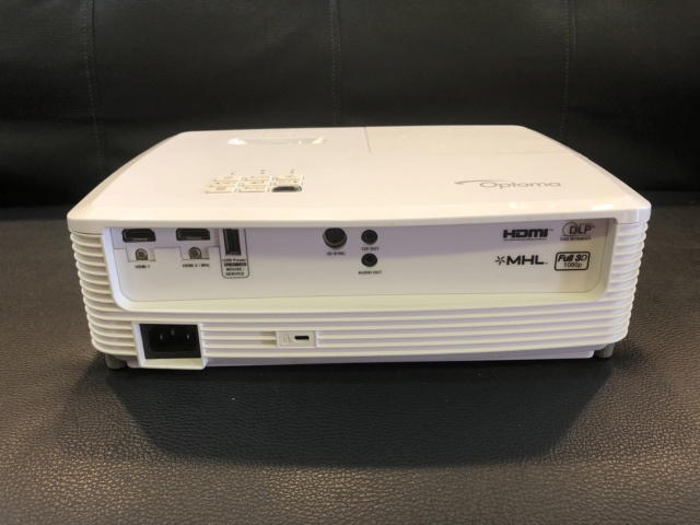 Optoma HD 27E Projector (Sold) Img_6013