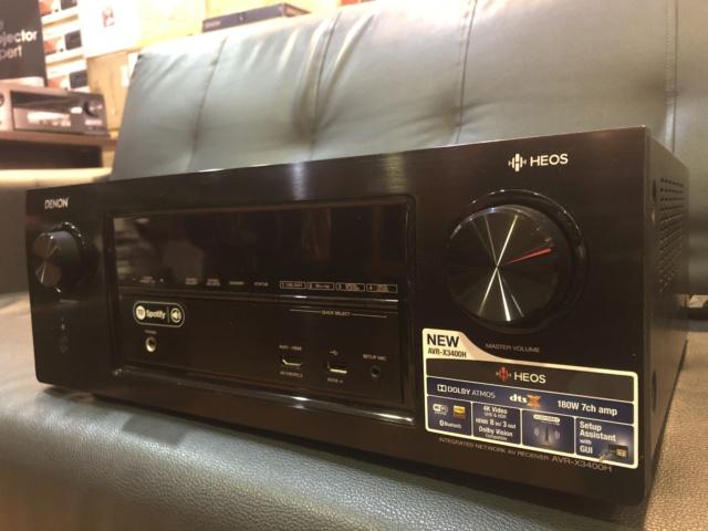 Denon AVR-X3400H Atmos AV Receiver  (Used) Img_6310