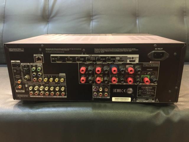 Onkyo TX-NR737 AV Receiver(Sold) Img_6314