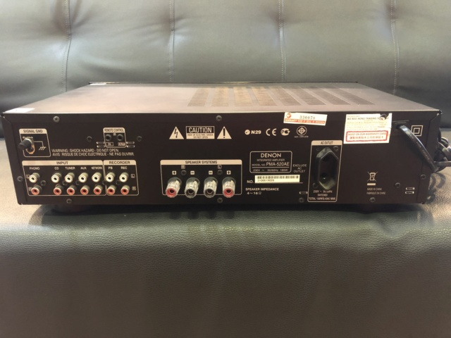 Denon Integrated Amplifier (Used) Img_6621