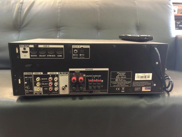 Pioneer VSX 531 Bluetooth Av Receiver (Sold) Img_6717