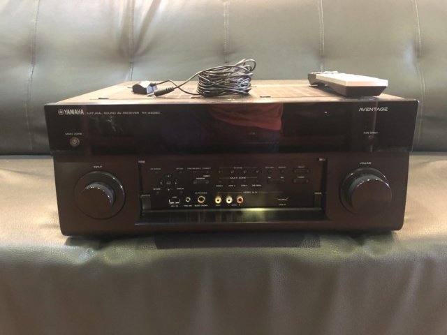 Yamaha RX-A2060 AV Receiver (USED) Img_7110