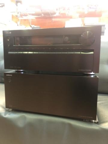 Onkyo Pre & Power 9 CH AV Receiver (Used) Img_7313