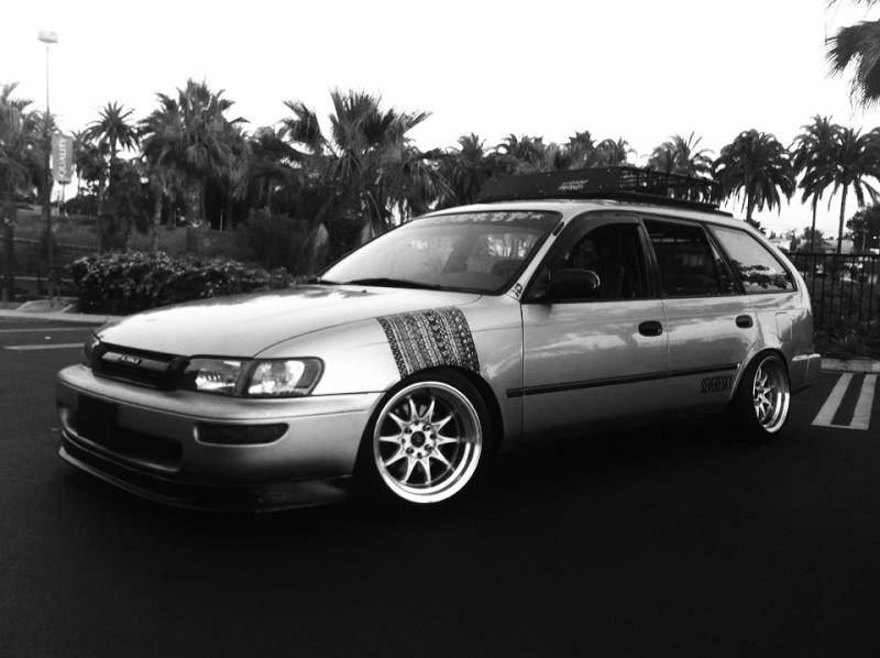 1996 Corolla Wagon Stance Hellaflush ae101 14806810