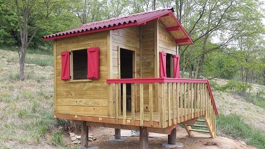 cabane enfant Chalet11