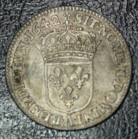 douzièmes d'écu 1642 et 1643 Paris Louis_20