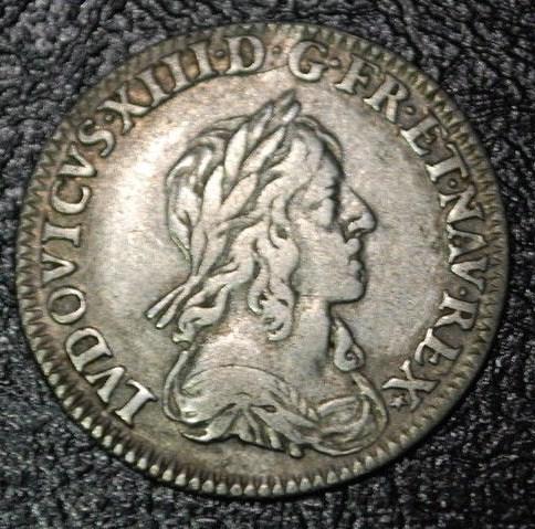 douzièmes d'écu 1642 et 1643 Paris Louis_21