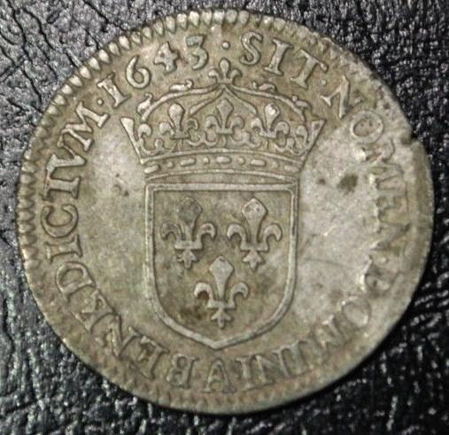 douzièmes d'écu 1642 et 1643 Paris Louis_22