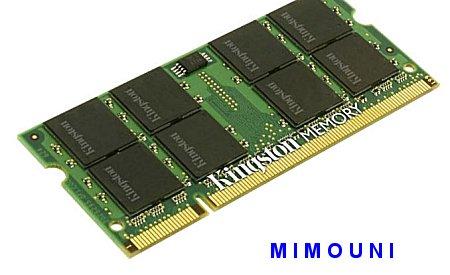 memoires Ram DDR DDR1 DDR2 DDR3 pc portable et standard Ddr_212