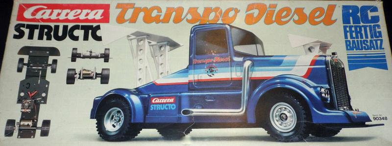 Carrera Structo Transpo Diesel RC Fertigbausatz 110