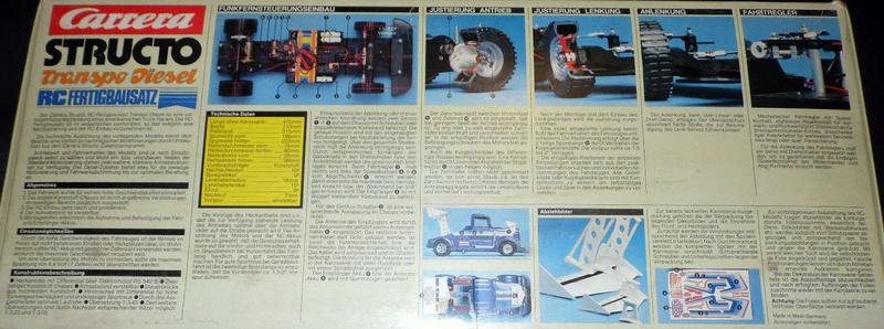 Carrera Structo Transpo Diesel RC Fertigbausatz 210