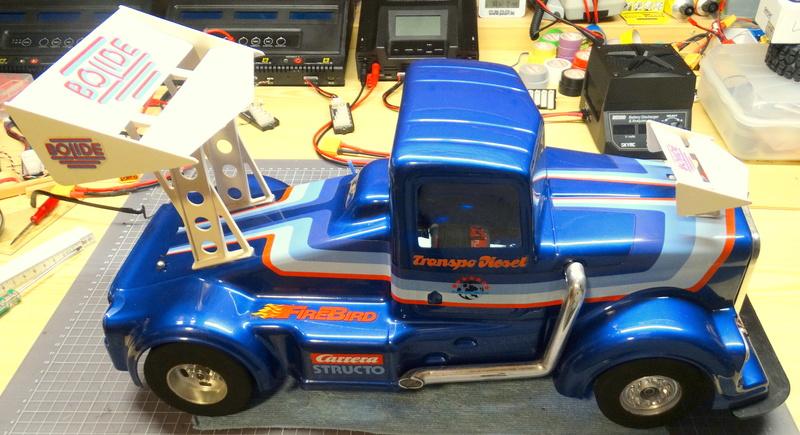 Carrera Structo Transpo Diesel RC Fertigbausatz Dsc00521