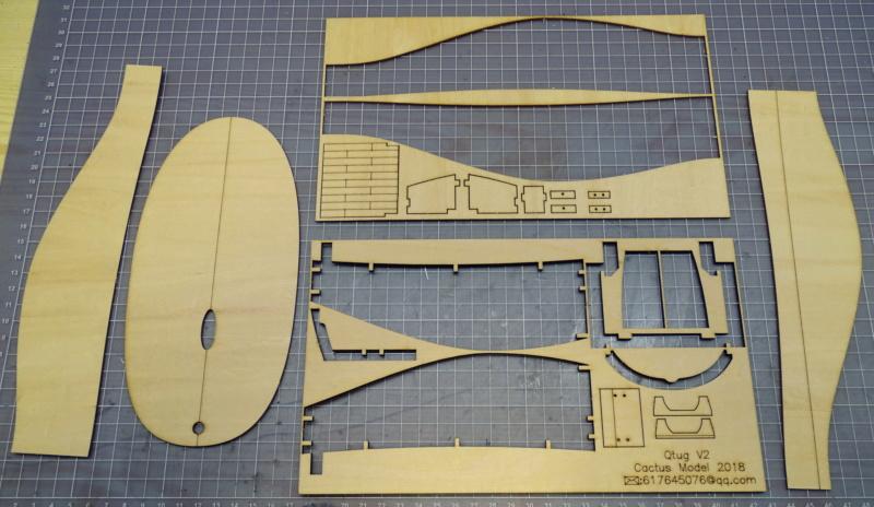Mini TUG Q1 - Vorstellung und Baubericht Dsc00913