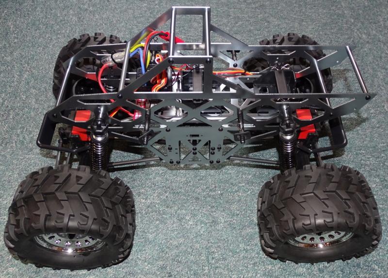 "Monstertruck ""Ground Pounder"" / Redcat Racing, 1:10 Dsc04327"