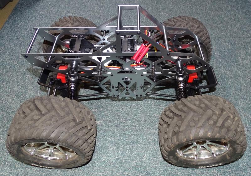"Monstertruck ""Ground Pounder"" / Redcat Racing, 1:10 Dsc04421"