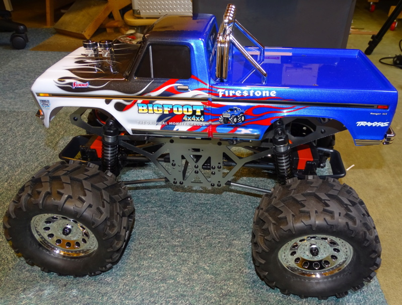 "Monstertruck ""Ground Pounder"" / Redcat Racing, 1:10 Dsc04711"
