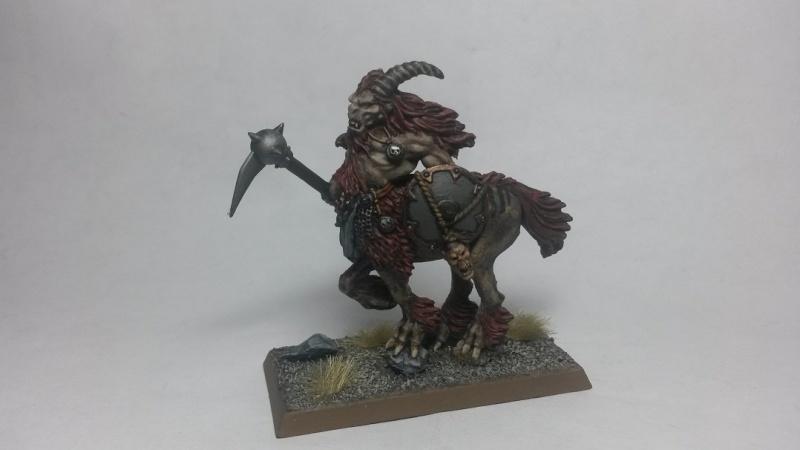 beastmen - Beastmen Warband Centig11