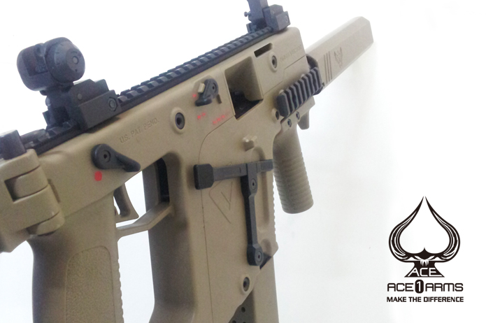Ace 1 Arms - KRISS Vector Right Hand Magazine Release Kriss-11