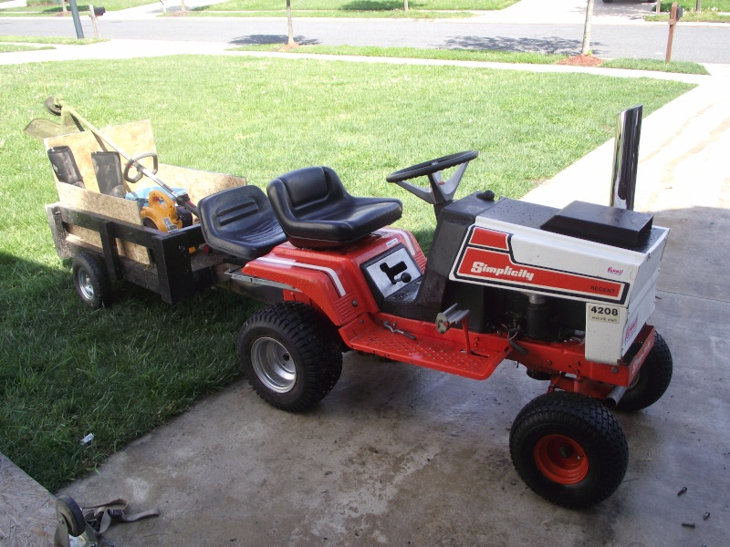 Simplicity 4208 Mud Mower Project