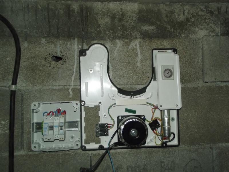 BRANCHEMENT ELECTRIQUE APRES RENOVATION FILTRATION Appare17