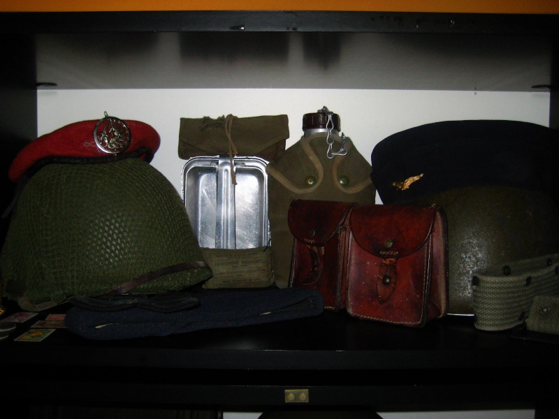 Collection de Militaria34 MAJ 20/05 Vitrin10
