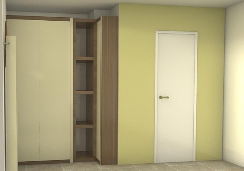 projets de placard et decoration longs couloirs étroits  Placar11