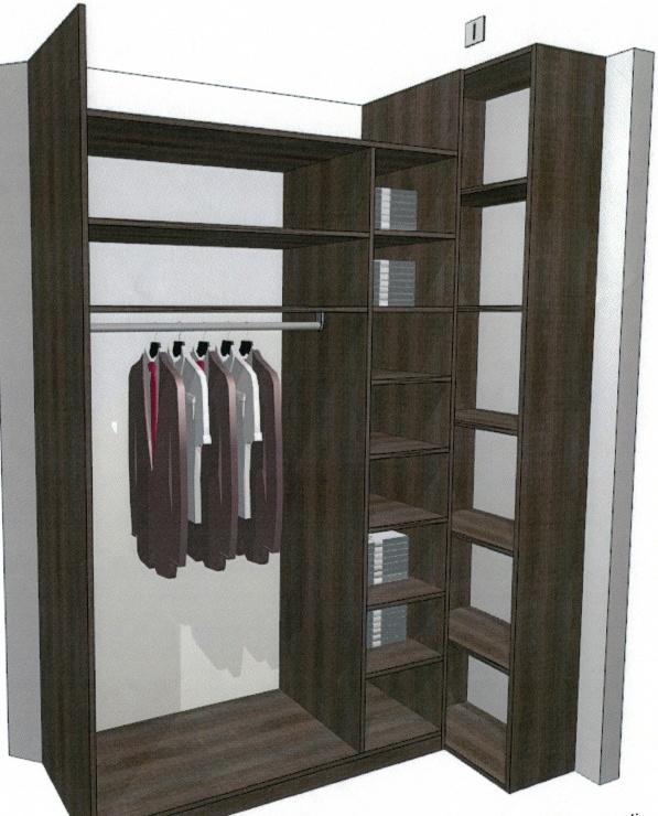 projets de placard et decoration longs couloirs étroits  Simu_p10