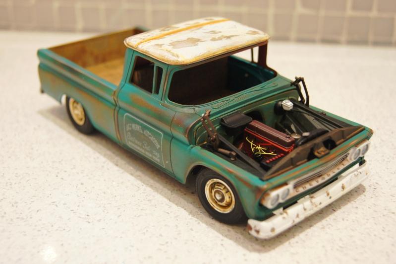 1960 Chevy Fleetside Pickup - RUST Dsc08910