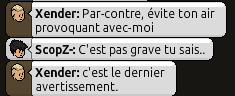 Edition du 21/05/2014 - La OO? Des Menaces balancées a tout va ? Menace10