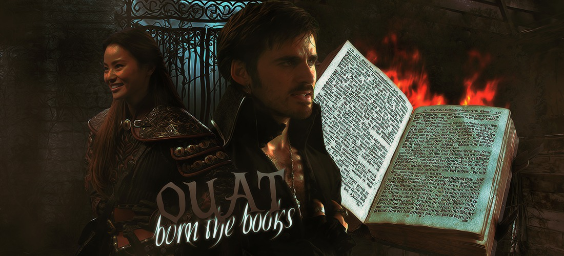 OUAT Burn The Books