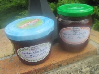 Confiture de fraises et rhubarbe + photos. 10359510