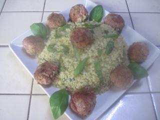 Boulgour aux aromates et boulettes de viande + photos. Img_2710
