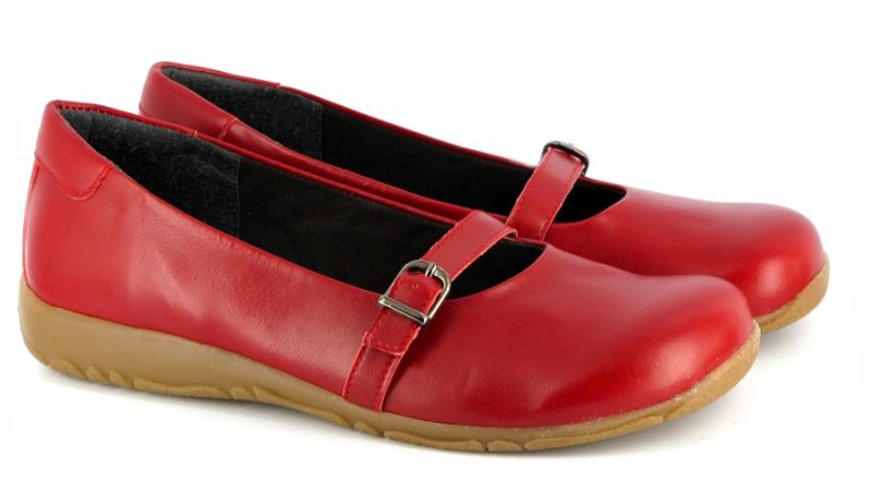 Vends Ballerines  rouge Vegetarian shoes taille 38 Prd7e510