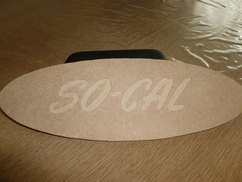 Plaque en bois So-cal10