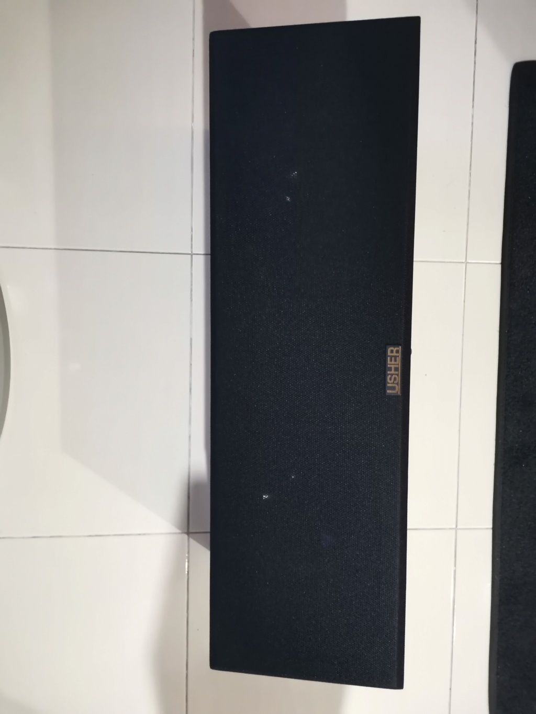 usher s-525 center speaker (sold) Img_2012