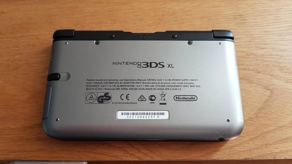 Estimation console 3DS XL + jeux 20190214