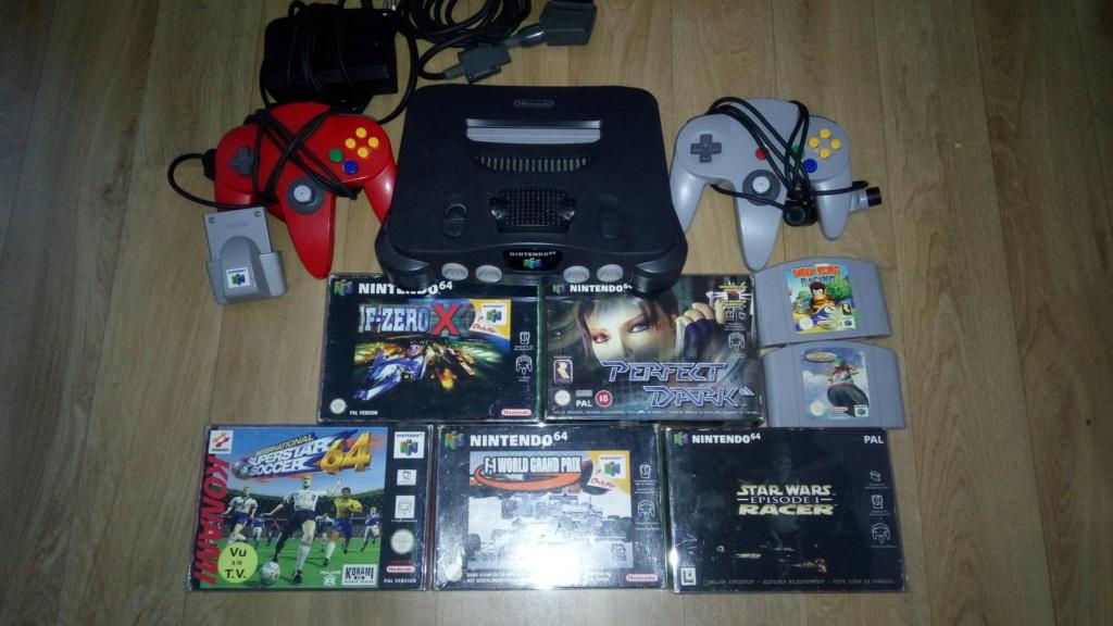 [VDS] lot N64 console RGB + jeux  Img_0538