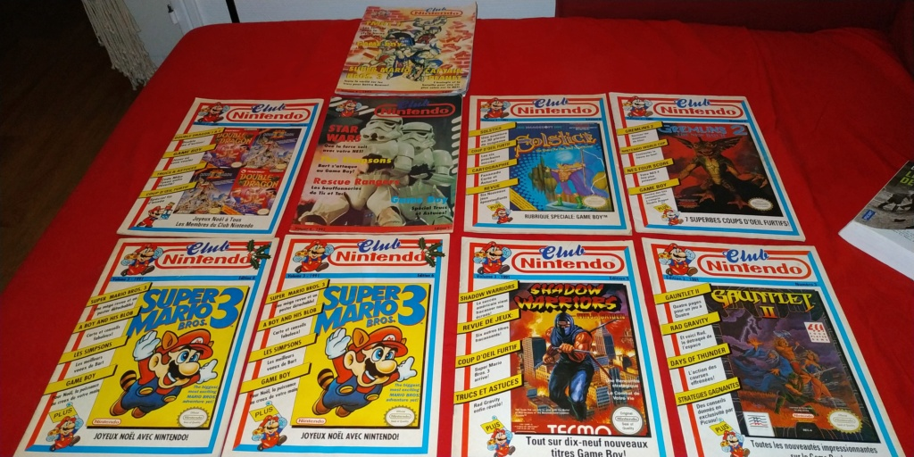 [VDS] Lot Super Famicom Jr + jeux / Club-nintendo-magazine  Img_2161