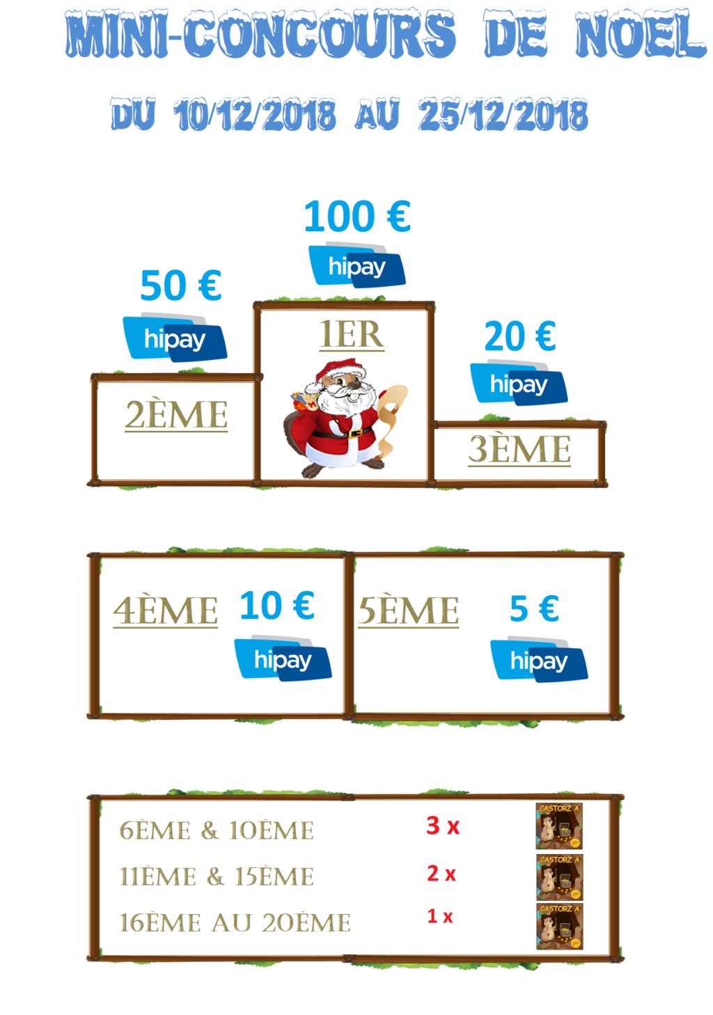Mini-Concours de Noël du 10/12 au 25/12/2018 (à 22h00) Concou10