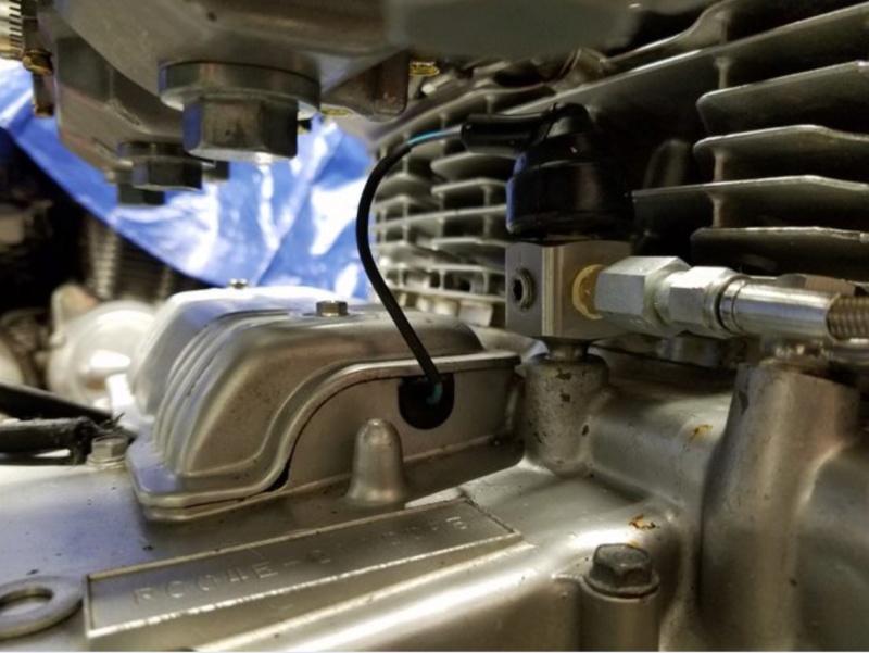 mano de pression d'huile F2f89810