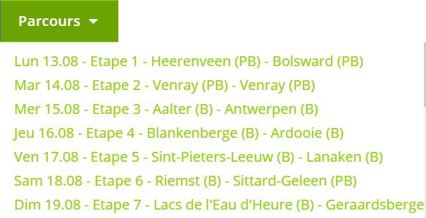 Tour du Benelux VG 2018 Bensta10
