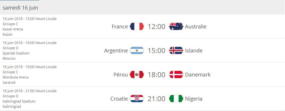 Coupe du monde: présentation S1610