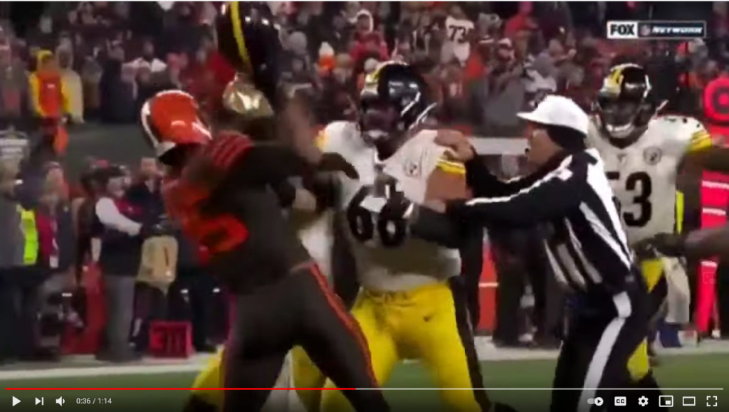 Week 17: Steelers @ Browns (free with purchase: 4 quarters of winning mojo!) Captur18
