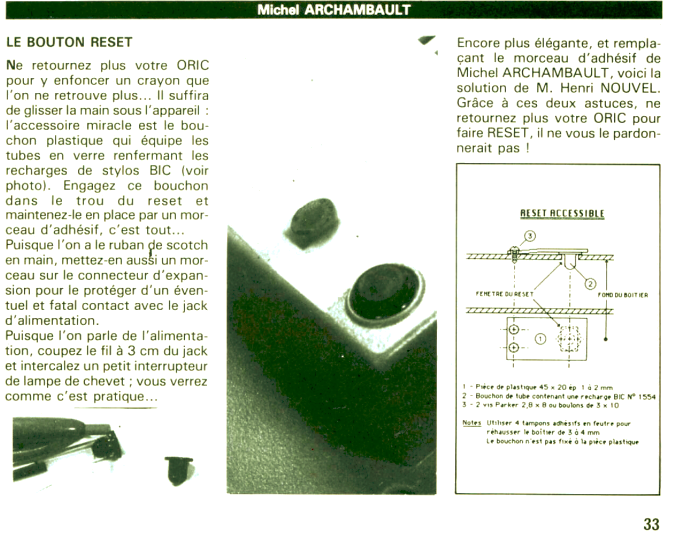 Problème avec un processeur 6502 Bouton10